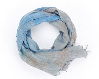 Patterned Square Print Scarf
