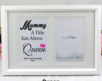 Personalised Mum Typography Frame