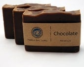 Chocolate Mint Soap - Natural Soap - Handmade Soap - Cold Process Soap