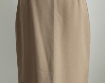 Beige Skirt by Town and Country  Size 10
