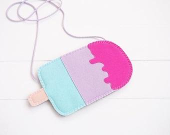 Icecream kids purse with strap