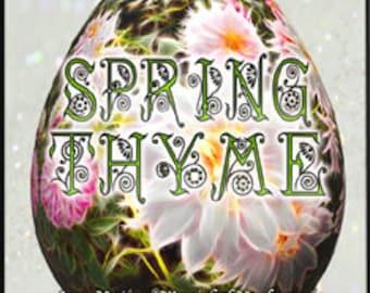 Spring Thyme - Spring 2017 - Limited Edition Original Fragrance - Love Potion Magickal Perfumerie