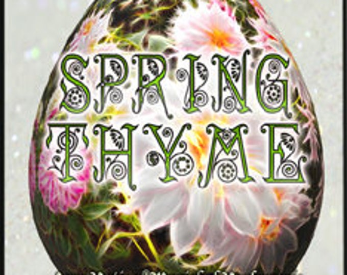 Spring Thyme - Spring 2017 - Limited Edition Original Fragrance - Love Potion Magickal Perfumerie