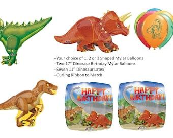 Dinosaur Balloon Bouquet