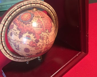 Vintage Globe Bookend Very Unqiue