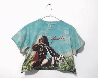 Janis Joplin Tie Dye Crop Top