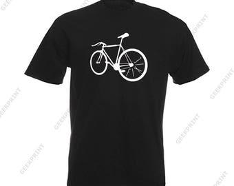 T-shirt shirt gear fixie fixed tshirt tee bike cycle bike bicycle fixed gear size S M L XL