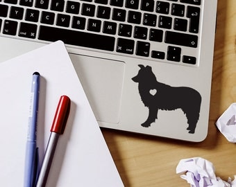 SUMMER SALE! Border Collie sticker Border Collie Decal Car Laptop Vinyl Decal Sticker