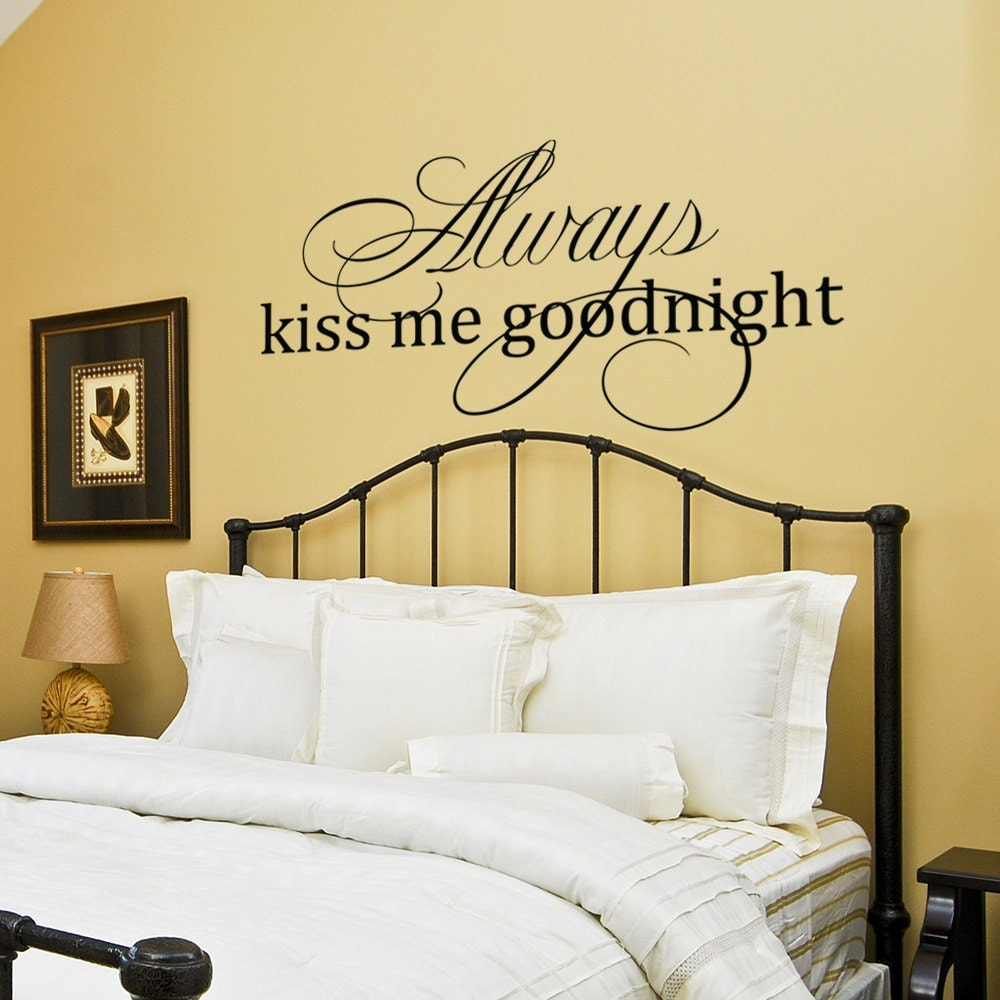 Master Bedroom Wall Decal Wall Decor Wall Art Decor Decal Always ...
