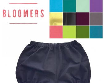 Basic Bloomers, Solid Color Bloomers, Bloomers, Diaper Cover, Bloomies, Baby Bloomers