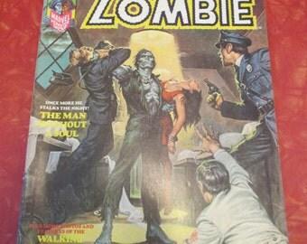 1974 Marvel Comics Tales of The Zombie #6 Magazine/ Comic Book  (Q24)
