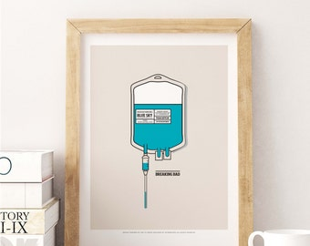 Breaking Bad. Design inspired in the series of television.