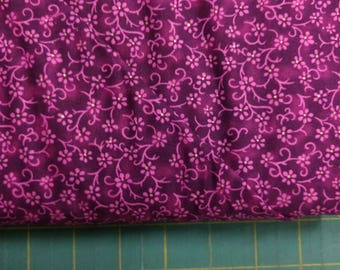 Amethyst Florina fabric. quilters cotton quilting Blank Textiles 1259 purple