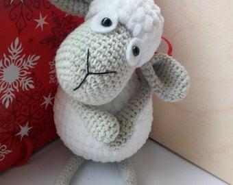 Sheep amigurumi, Crochet sheep,  handmade amigurumi sheep