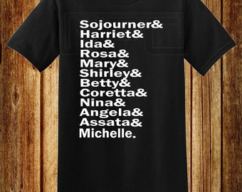 Black Women T-Shirt Black History
