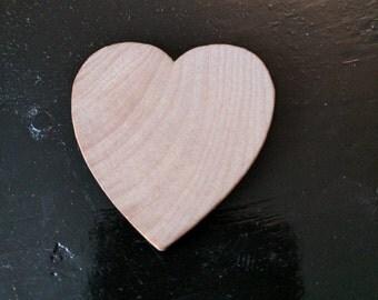 Wooden Heart Discs