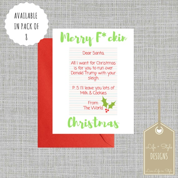 ... Cards,Christmas Card,Trump Card, Santa Card,Card Pack, Holiday Set