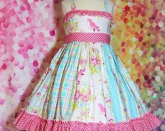 Fancy toddler dress, toddler sundress, halter dress, toddler dress, Tanya Whelan, toddler summer dress,  twirly girly dress, ruffled dress