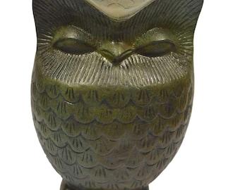 Owl of Wisdom Bronze sculpture