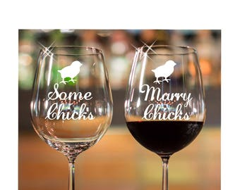 Lesbian wedding gift/ Etched Wine Glasses/ Stemless wine glass/ Mrs. and Mrs./ personalized gift/ personalized wine glasses/ custom gift