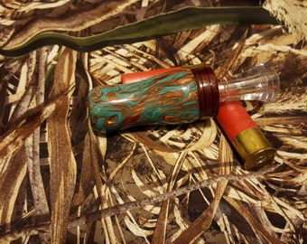 Duck Call (Torquoise and Copper)