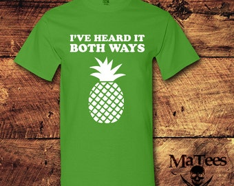 Pineapple, Psych, Psycho, Geek, Geeky, Nerd, Nerdy, Shawn Spencer, T-Shirt, Shirt, Tee,