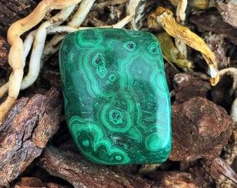 Malachite Crystal Stone infused Reiki Perfect for Meditation, Healing, Chakras