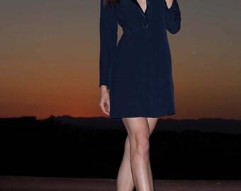 Tuxedo Mini Dress