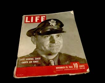 Life Magazine Nov. 29,1943: WWII                       GC2645