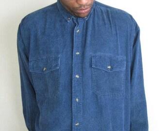 Corduroy Oxford Shirt
