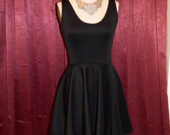 Beautiful Black High Low Dress