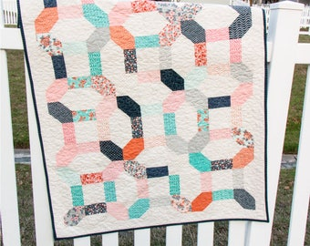 Sweet Marion Handmade Throw Quilt