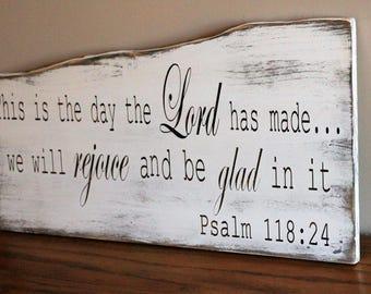 Psalms 118 24 Etsy