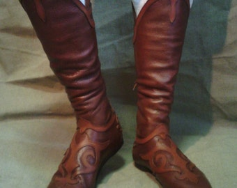 "Elven shoes ""Guardian"";Cosplay;Role game; Movie trops;LARP;Elf"