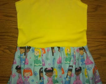 Princess Tank Top Onesie Dress