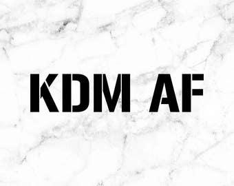 KDM decals, Korean car decals, Korean stickers, custom car stickers, daily driven