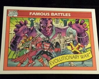Evolutionary War #103 - 1990 Marvel Universe Series 1 Base Trading Card