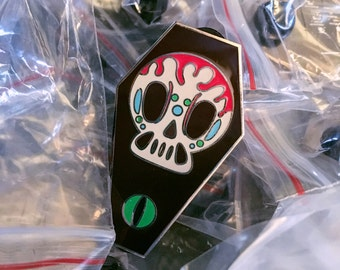 Sugar Skull Enamel Pin
