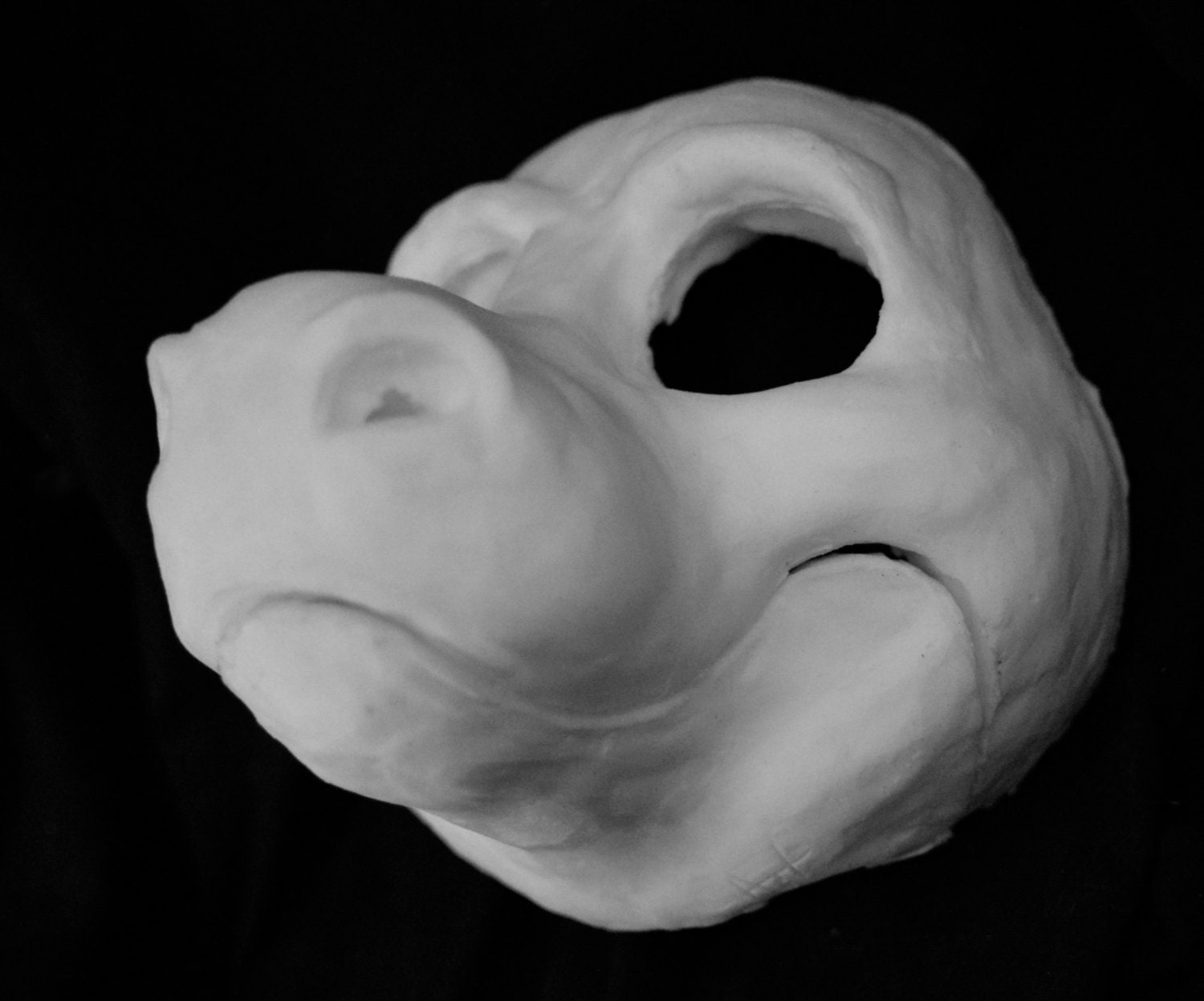 Cut Amp Carved Dragon Foam Head Base For Costumes Mascots And Fursuits From Runawayworkshop On