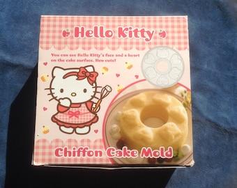 Vintage Sanrio Hello Kitty Chiffon Cake Mold