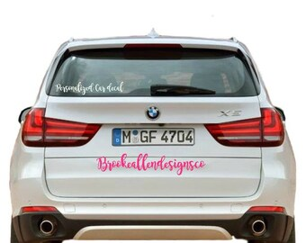 Business Car Decal Etsy - Custom car decals for business   how to personalize