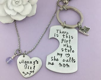 Gift For mom, Mothers Day Gift, Personalized Gift, Mommy's Girl, Gift for Daughter, Adopted Daughter Gift, New Mom Gift, Valentines for Mom