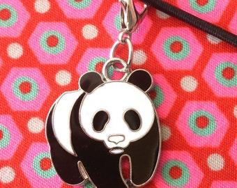 Panda Charm for your Midori, FauxDori, Planner