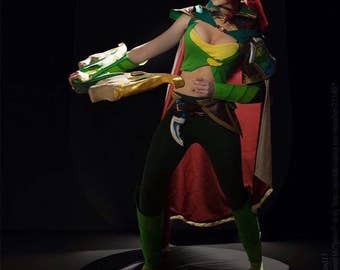 Dota 2 Windranger cosplay costume