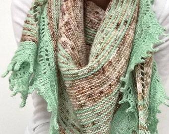 nido shawl - knitting pattern