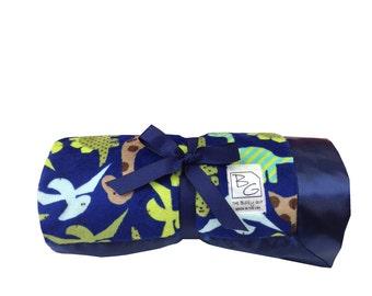 Dinosaur  Stroller Blanket