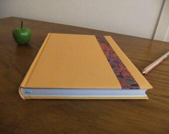 Book orange mottled band
