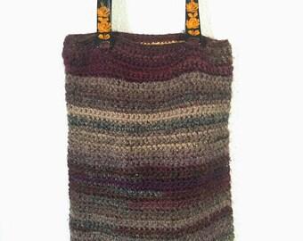 Handmade Handbag crochet vintage