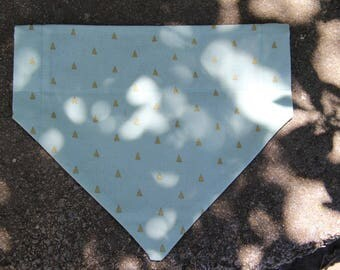 MINT Reversible Over the Collar Dog Bandana