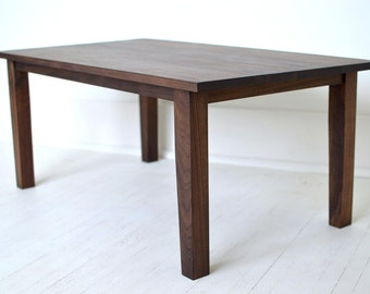 Modern Black Walnut Coffee Table | Walnut Table | North Shore Series | Living Room Table